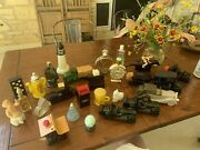 45 Vintage Avon Perfume And Aftershave Bottles