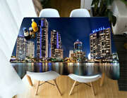 Music Card House 3d Tablecloth Table Cover Cloth Rectangle Wedding Party Banquet