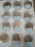 Twelve Tribes Of Israel Collector Plates
