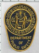 City Of Chesapeake Dept Of Public Safety Virginia 1st Issue Shoulder Patch