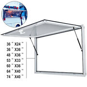 Concession Stand Serving Window/awning Food Truck Service Door - No Glass