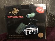 Brand New Winchester Model Wt-5, 12-50x 50 Mm Variable Powe Spotting Scope