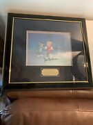 1993 Hanna Barbera Studios Tom And Jerry Production Cel Signed The Tom And Movie