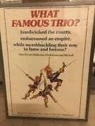 """What Famous Trio The Three Musketeers"""" Original Rolled Movie Poster 1977"""