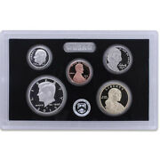2013 Partial Us Mint Silver Proof Set 90 Kennedy Dime Nickel Cent - 5 Coins