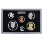 2012 Partial Us Mint Silver Proof Set 90 Kennedy Dime Nickel Cent - 5 Coins