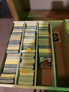 Over 8000 Collectible Sport Cards Baseballbasketball Football Very Old1986-2k0