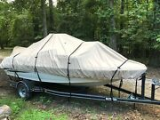 Lifetime Warranty 16 Oz 23.5and039 Center Console Boat Cover Cypress Rowe Outfitters