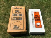 Sellstrom 10-10 Spill Control Station White Metal Cabinet New