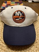 Vintage 1990andrsquos New Old Stock Ny New York Islanders Nhl Hockey Hat Cap Tei B1
