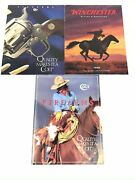 Vintage Colt And Winchester Firearms, Rifles And Shotguns Catalogs - 1995 And 1996