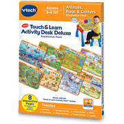 Vtech Touch And Learn Activity Desk Deluxe Expansion Pack - Animals, Bugs And Cr