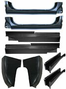 73-87 Chevy/gmc Truck Lh And Rh Side Cab Corners Mounts And Rocker Patch Panels