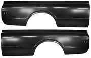 68-72 Chevy C10/k10 Truck Driver And Passenger Side Longbed 8and039 Bedside Pair Lh/rh