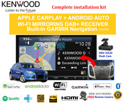 Kenwood Dnx9190dabs For Ford Focus 2012-2015 Lw - Stereo Upgrade
