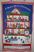 A Beary Merry Christmas Wall Hanging Advent Calendar Finished No Bear