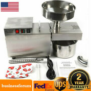 Automatic Small Oil Press Machine Stainless Steel Cold Hot Press 1500w Usa Stock