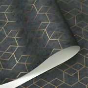 Modern Geometric Strip Wallpapers Home Decoration Printed Pattern Wall Cover New