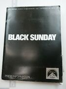 Black Sunday 1977 Original Movie Press Kit Robert Shaw Marthe Keller 22 Stills