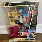 New In Box Ghoulia Yelps Physical Deaducation Monster High Doll
