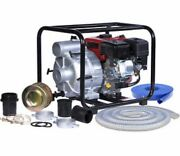 A-ipower 3 Inches Semi-trash Water Transfer Pump W/hose Kit 50 State