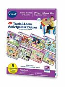 Vtech Touch And Learn Activity Desk Deluxe Expansion Pack - When I Grow Up@