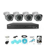 Laview 4-channel Hd 1080p Ip67 Outdoor Bullet Wi-fi Nvr 1tb Surveillance System