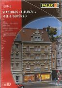 Faller 130448 Town House With Shopping Tea House Kit Nib Unopened