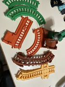 Thomas The Train Take N Play Track Huge Lot With Cranky 7 Pieces