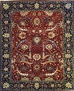 Hand-knotted Rug Carpet 7and03911x9and0397 Kerman Mint Condition