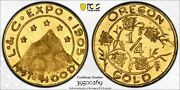 1905 Oregon Gold Lewis And Clark Expo 25c - Pcgs Ms66pl - Sole Pcgs Top Pop And Pl