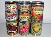 Reduced Set Vintage Food Tin Cans Great For Storage Cutlery Holders Kitchen
