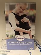 Boppy Comfyfit Comfortable Baby Carrier - Portable And Lightweight. Black. New