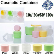 Wholesale Face Cream Lotion Cosmetic Containers Travel Empty Makeup Jar Pot Set