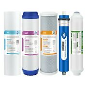 5 Stage 50/75/100/150 Gpd Ro Membrane Whole House Reverse Osmosis Water Filters