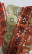 2014 2 Remembrance Day Green Dove Coins In Mint Bag Of 25.