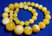 86.6g Necklace Genuine Natural Baltic Amber 62 Cm