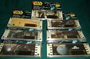 Star Wars Film Frame 70mm, Lot Of 7 Different Editions, A New Hope Original