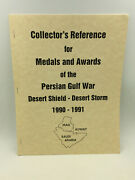 Collectorand039s Reference For Medals And Awards Of The Persian Gulf War - 1996