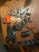 Vintage Johnny West Accesories Lot Marx Offers Welcome