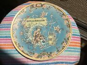 Antique Collectible Two Metlach German Stein Fairy Tale Wall Plaque Plates