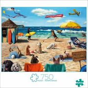 Buffalo Games - Dog Days Of Summer - 750 Piece Jigsaw Puzzle Ships Free And Fast