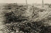 No Mans Land Before Trenches 26th Division Wwi Rppc Real Photo Signal Corps P21