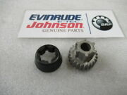R52 Evinrude Johnson Omc 380133 Cone And Wheel Oem New Factory Boat Parts