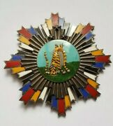 Orden China - Republic Of China Kmt Government Cloisonne Honor 3stars