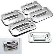 Fits 2004-2014 Ford F150 Chrome 4 Door With Key Pad + Tailgate Handle Covers