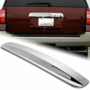 For 2003-2012 Ford Expedition Chrome Rear Hatch Trunk Top Liftgate Molding Cover