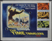 The Time Travelers 1964 Authentic 22x28 Movie Poster Preston Foster Philip Carey