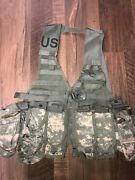Us Military Tactical Load Bearing Vest Combo, Us Army Surplus