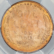 1944-s Lincoln Wheat Cent Penny Pcgs Ms66rd Subtle Natural Toning Unc Bu Mr